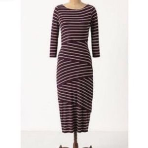 Anthropologie Bailey 44 Column Dress in Plum